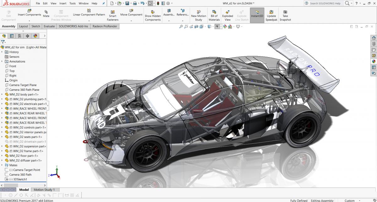 Обзор программы SolidWorks общие сведения