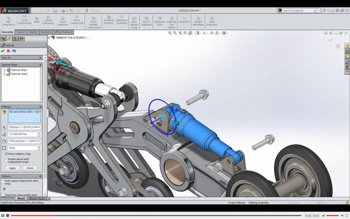 Обзор программы SolidWorks промышленный дизайн