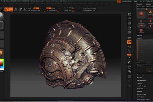 Обзор программы ZBrush моделирование