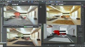 Обзор 3Ds Max визуализация интерьера