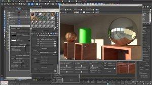Обзор 3Ds Max редактор материалов