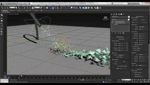 Обзор 3Ds Max система частиц