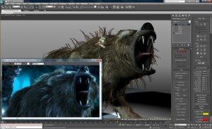 Обзор 3Ds Max шерсть и волосы