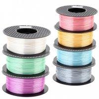 Пластик для 3D принтера купить шелковые цвета в ассортименте