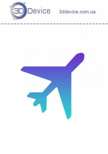Самолет трафареты для 3D ручки