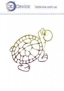 Трафареты для 3д ручки черепашка