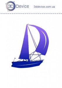 Яхта трафареты для 3D ручки
