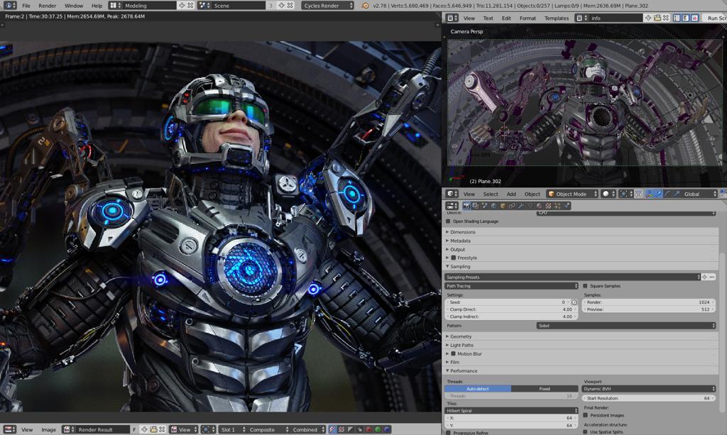 Blender обзор новая версия