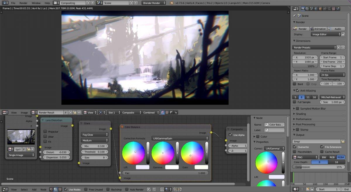Blender обзор 2D рисование