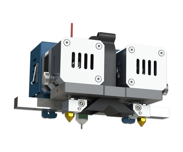 3D printer CreatBot F430 extruder