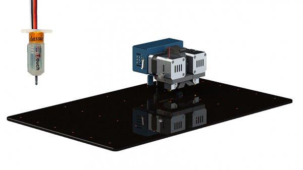 3D принтер CreatBot F430 автокалибровка
