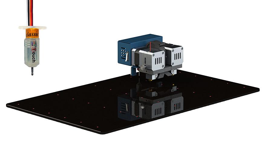 3D printer CreatBot F430 autocalibration