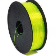 Желтый прозрачный филамент PLA