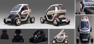 Корейское авто на 3Д принтере