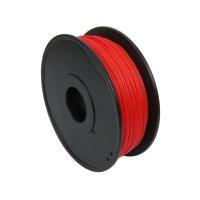 Купить ПЛА пластик для 3D принтера красный
