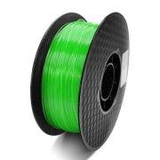 Купить PLA 1.75 мм прозрачный зеленый