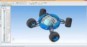 Обзор Компас 3D шестерни