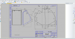 Обзор компас 3D построение чертежей