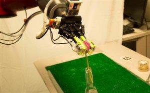 Осязание и робот на 3Д принтере