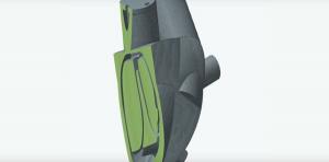 Сердце на 3D принтере модель