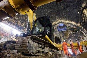 3D печать бетоном в лондонском метро