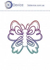 Трафареты для 3D ручки Бабочка 2