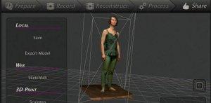 Бюджетный 3D сканер для 3D сканирования
