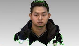 Бюджетный 3D сканер результат сканирования