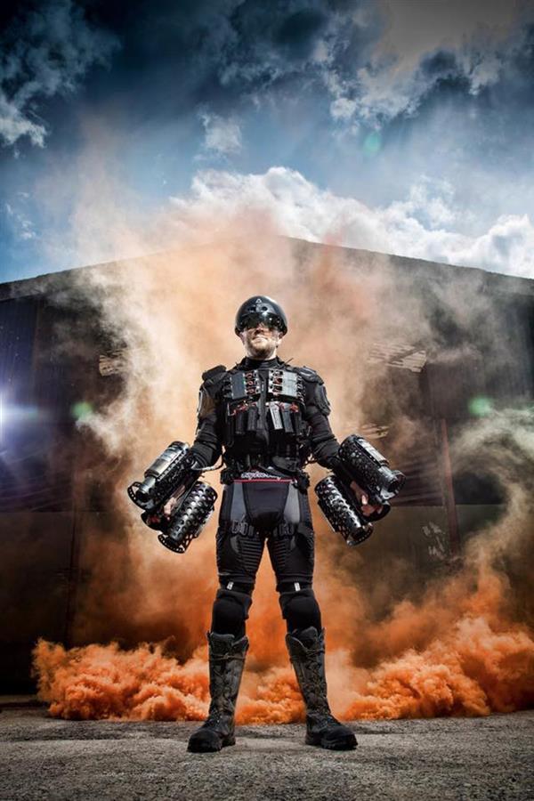 Реактивный костюм на 3D принтере от британских инженеров
