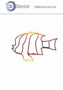 Трафареты для 3D ручки рыбка