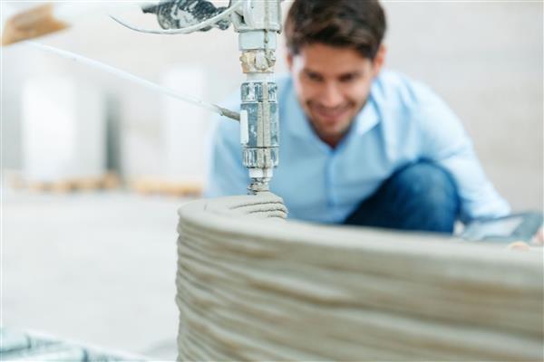3D печать из бетона
