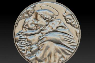3Д моделирование модель монеты