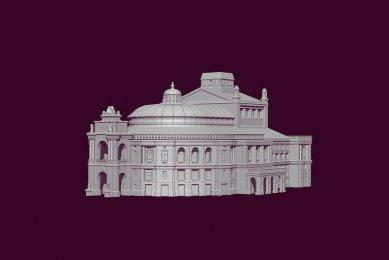3Д моделирование Оперный театр