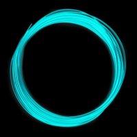 Набор PLA пластика Светящийся в ночи (Люминесцентный)