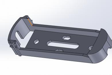 3Д моделирование инженерной детали