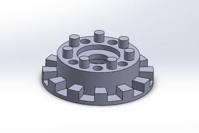 3Д-моделирование механизма