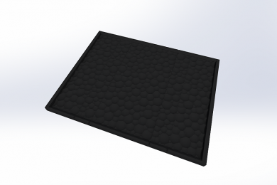 3D моделирование плиты
