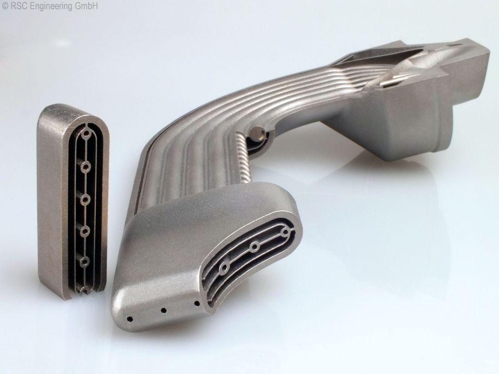 Селективное лазерное плавление металлов 3D печать