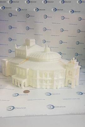 Одесский оперный театр 3Д печать