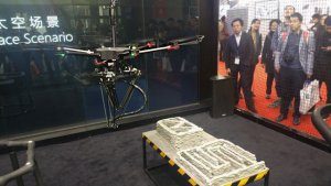 Летающий 3D принтер