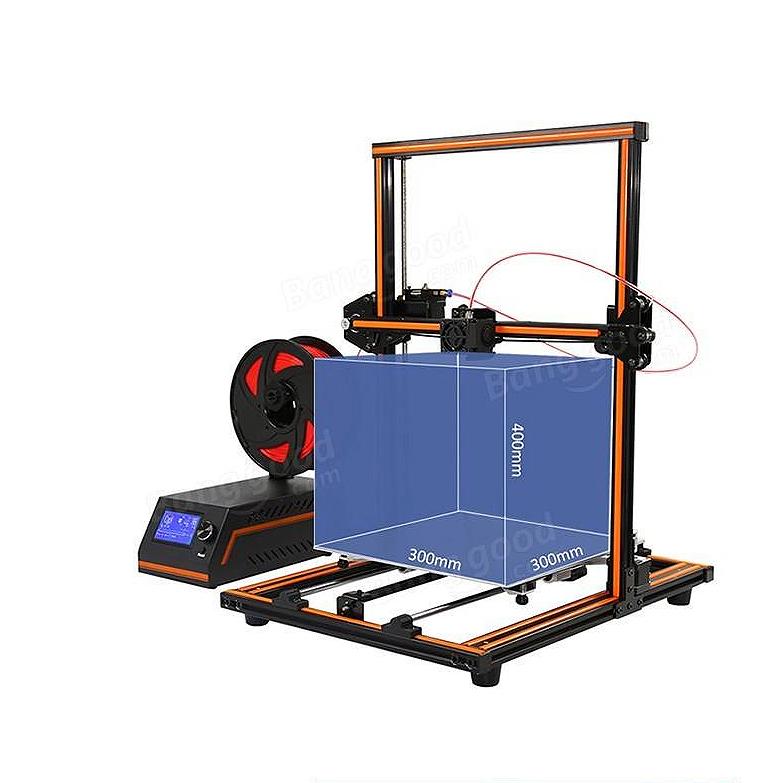 FDM принтер Anet E12 область построения