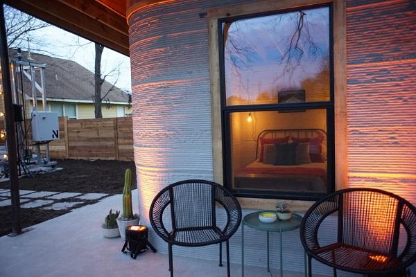 Дом при помощи 3D принтера