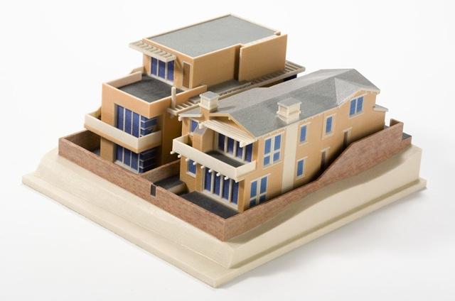 3D печать из бумаги макет