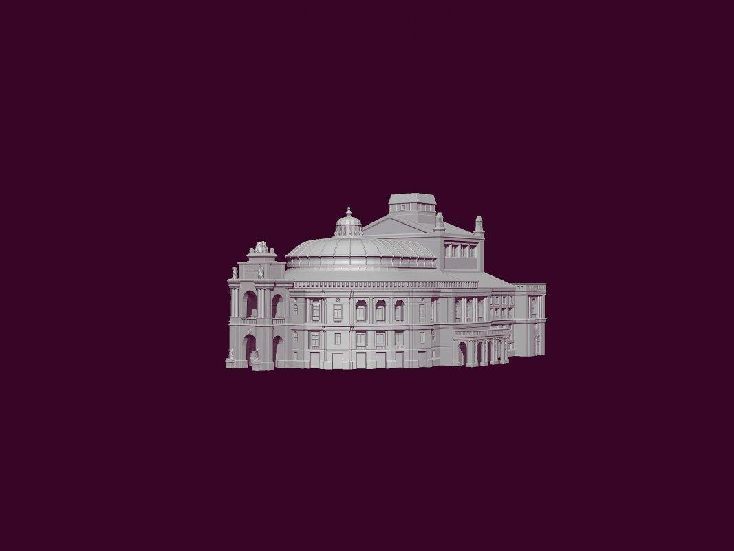 Оперный театр 3Д печать