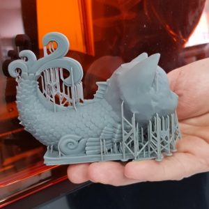 3D друк на принтері Formlabs