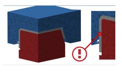 Процес штампування деталі за допомогою 3d-друкованого штампу