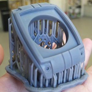Grey Resin прототип 3Д печать