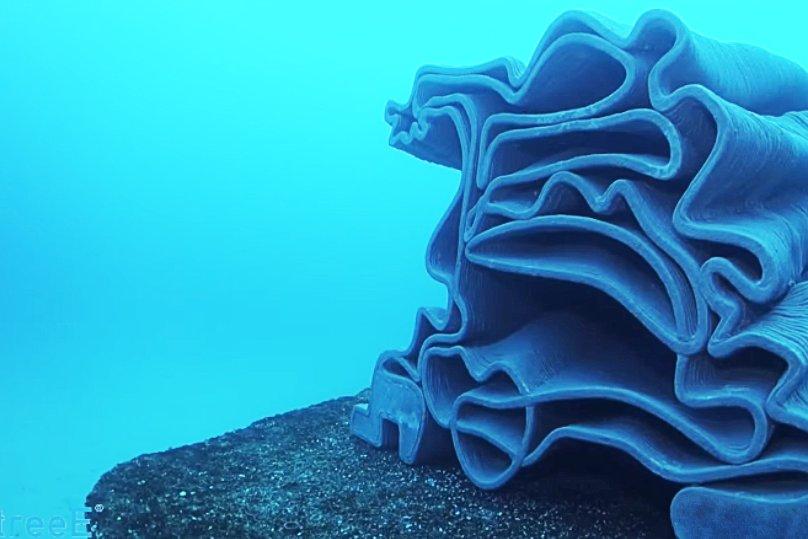 3Д печать коралловых рифов