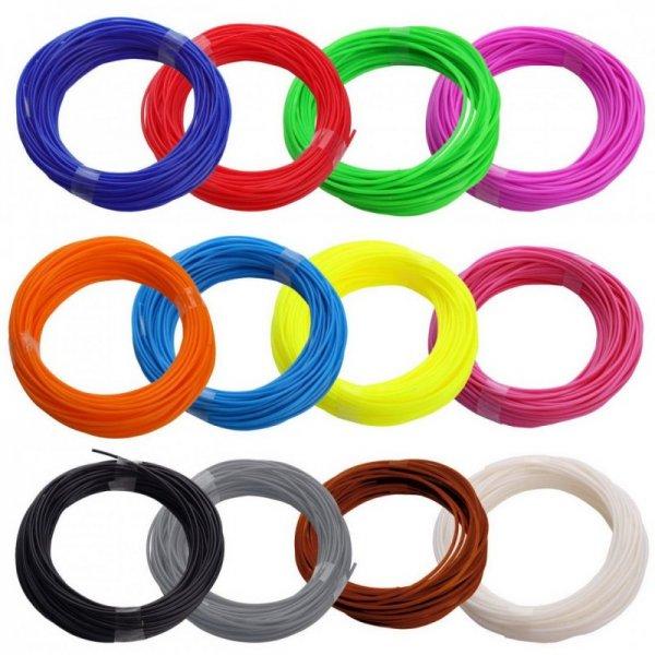 Набір 3D пластика доступно більш ніж 25 кольорів!