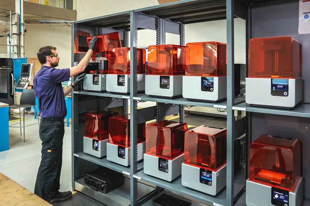 3Д печать в производстве   Серийное производство с Formlabs